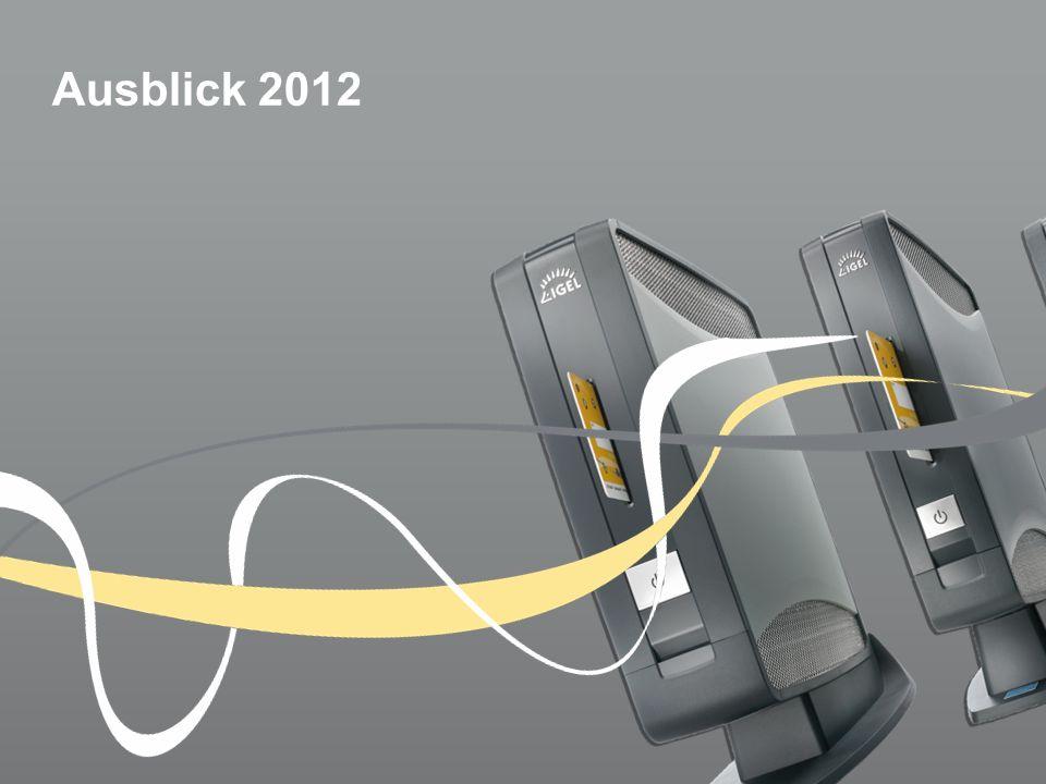 Ausblick 2012
