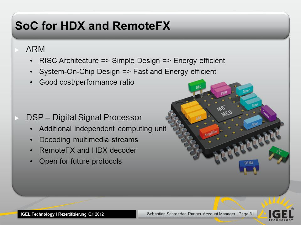 SoC for HDX and RemoteFX