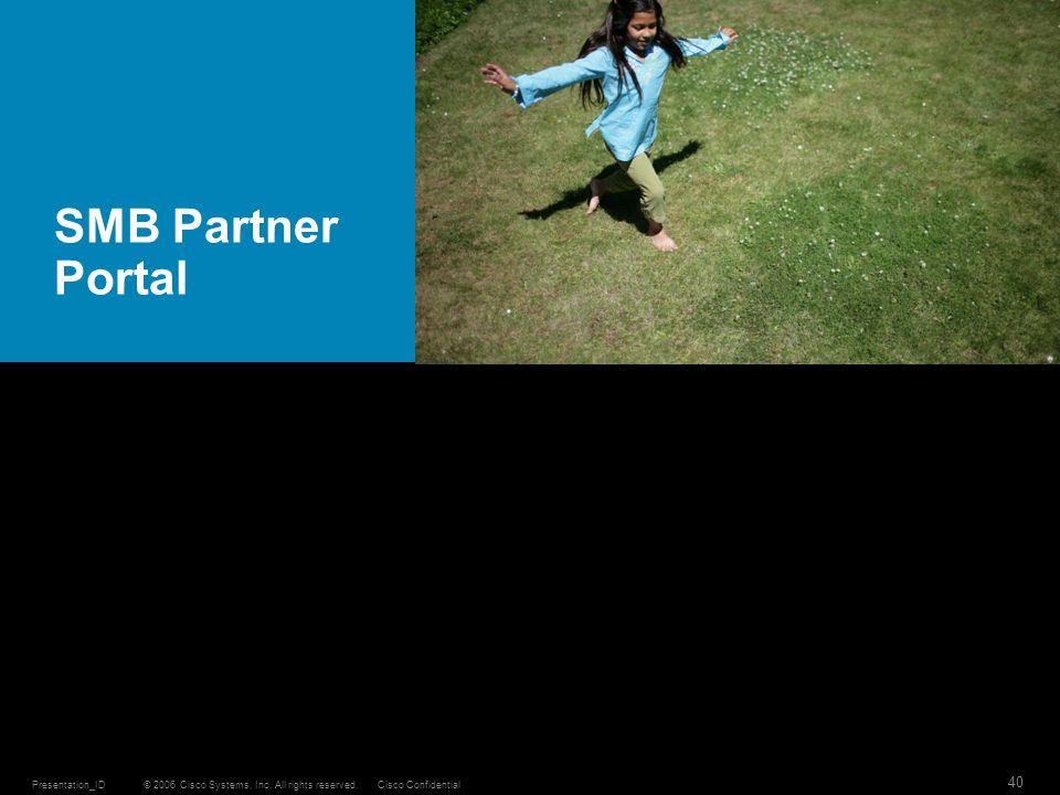 SMB Partner Portal