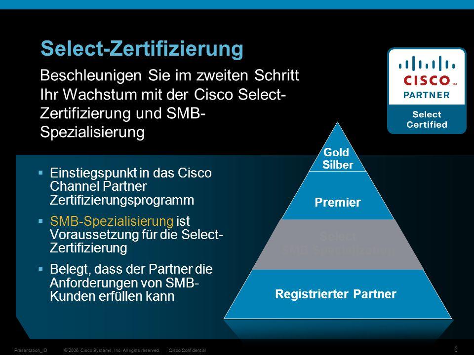 Select-Zertifizierung