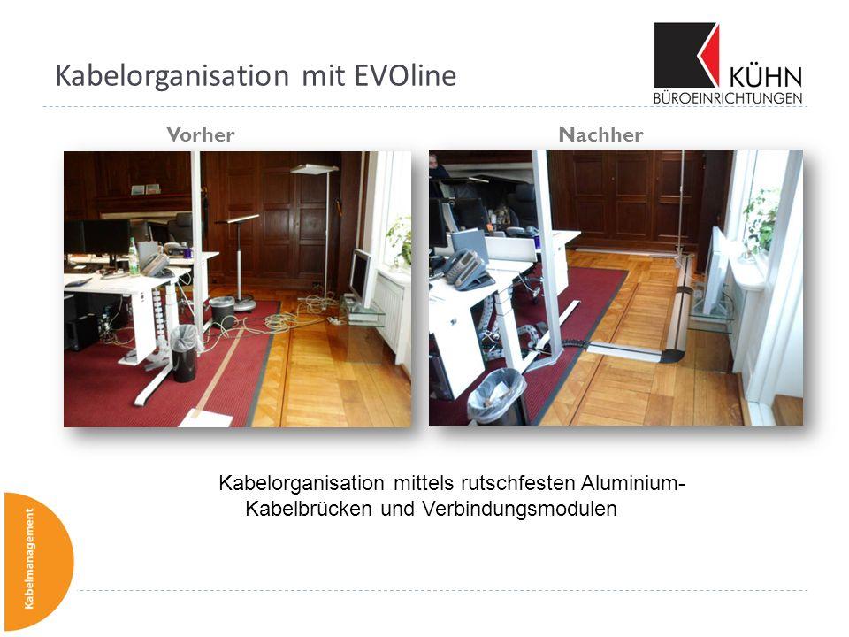 Kabelorganisation mit EVOline