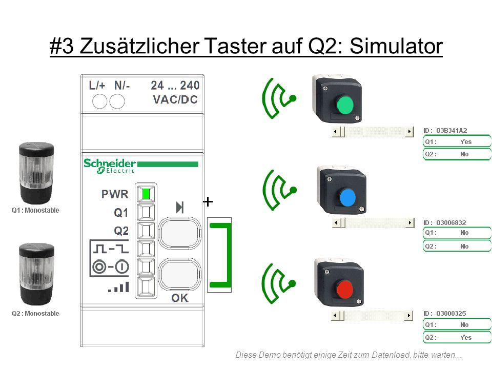#3 Zusätzlicher Taster auf Q2: Simulator
