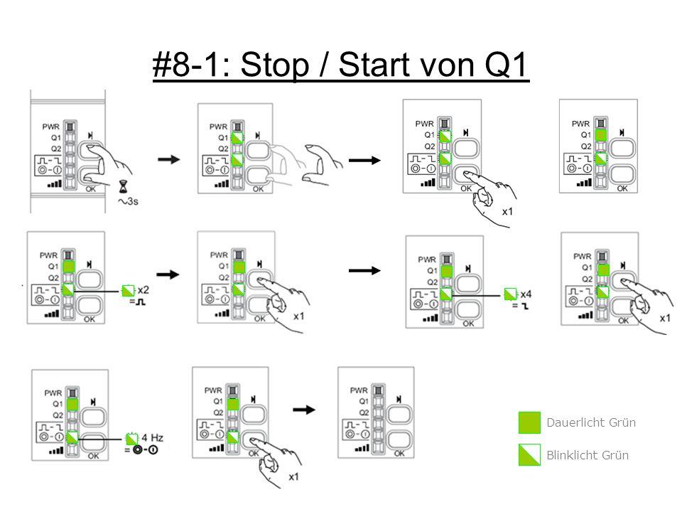 #8-1: Stop / Start von Q1