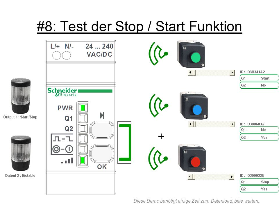 #8: Test der Stop / Start Funktion