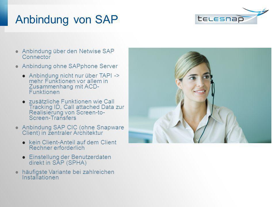 Anbindung von SAP Anbindung über den Netwise SAP Connector