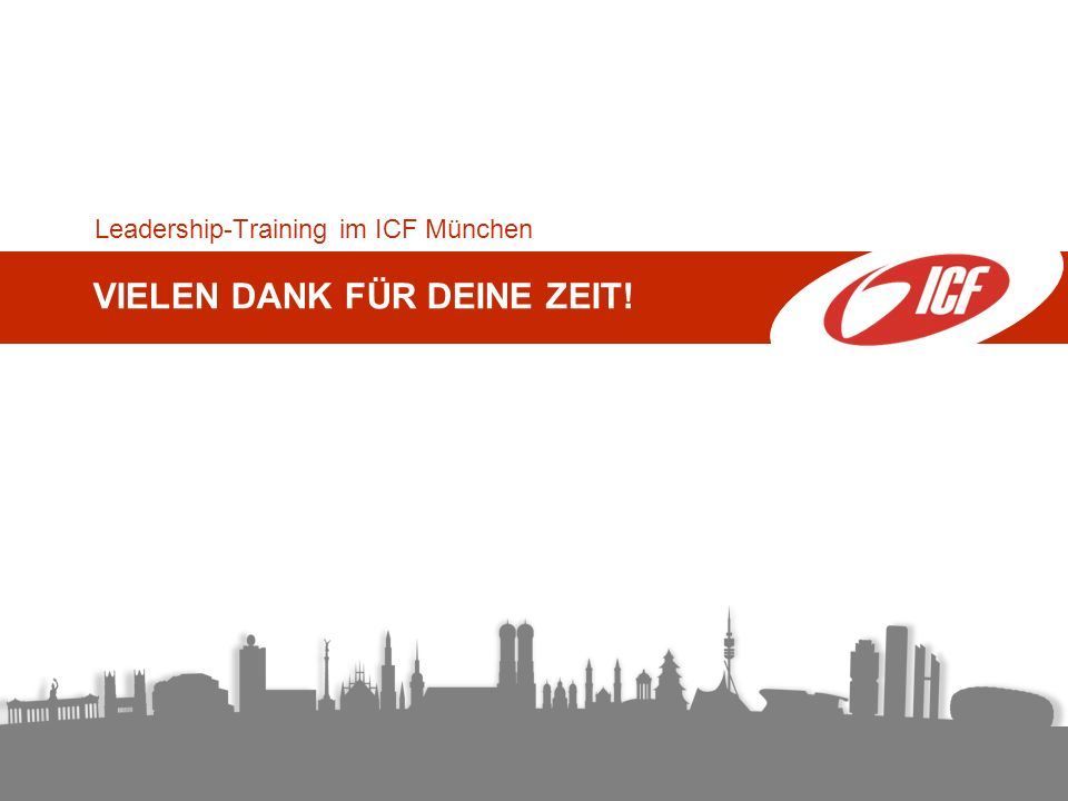 Leadership-Training im ICF München
