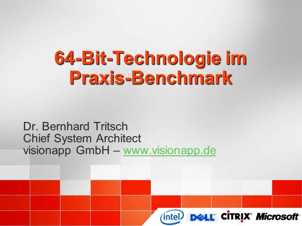 64-Bit-Technologie im Praxis-Benchmark