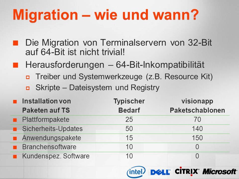 Migration – wie und wann