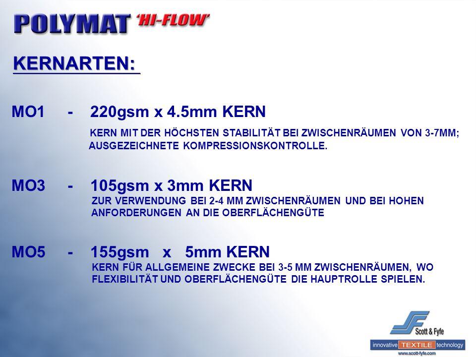 KERNARTEN: MO1 - 220gsm x 4.5mm KERN