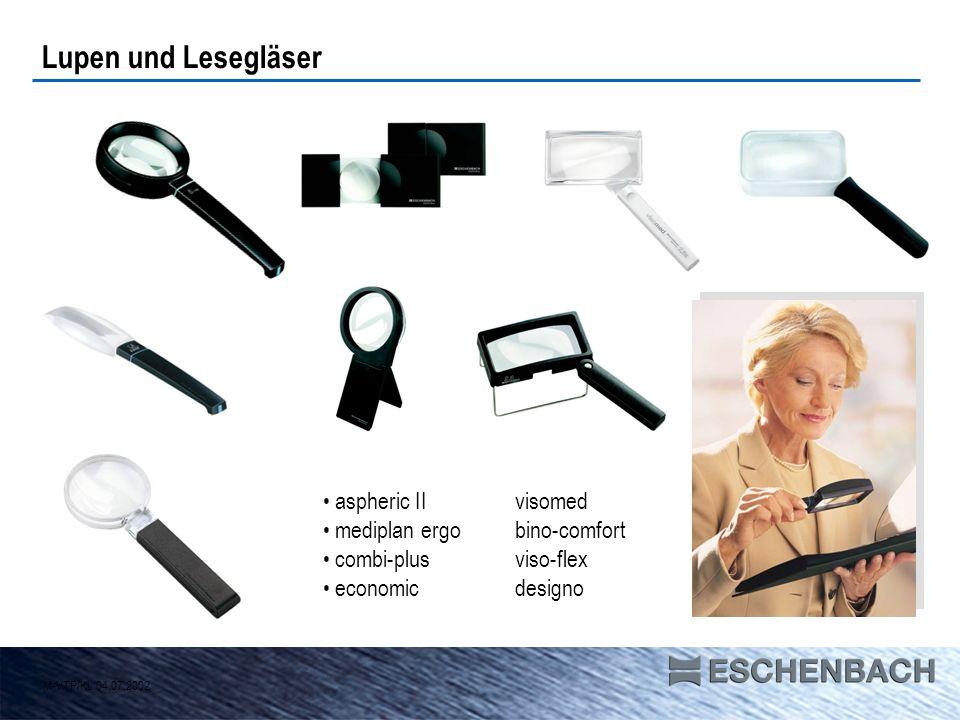 Lupen und Lesegläser aspheric II visomed mediplan ergo bino-comfort