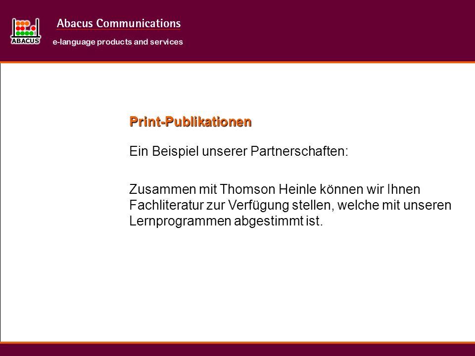 Print-PublikationenEin Beispiel unserer Partnerschaften: