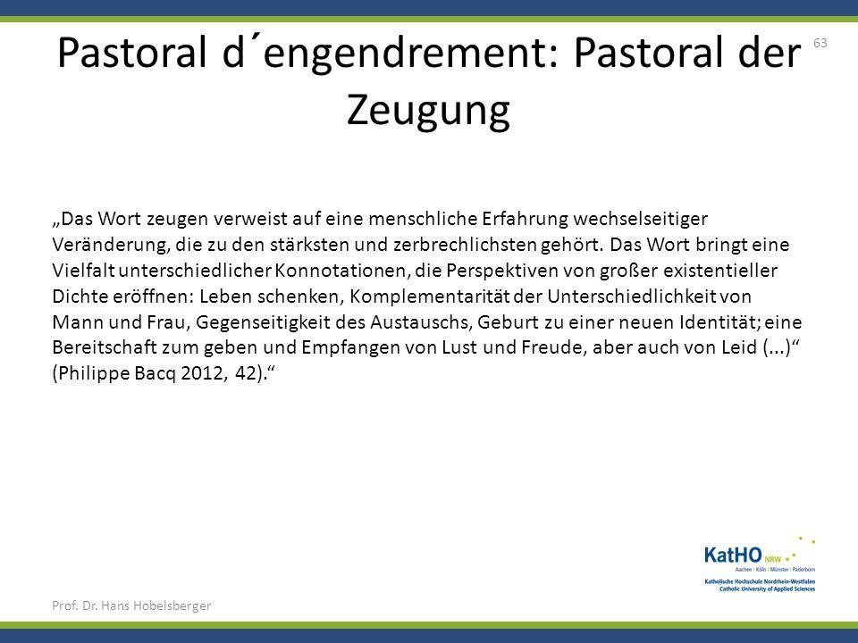 Pastoral d´engendrement: Pastoral der Zeugung