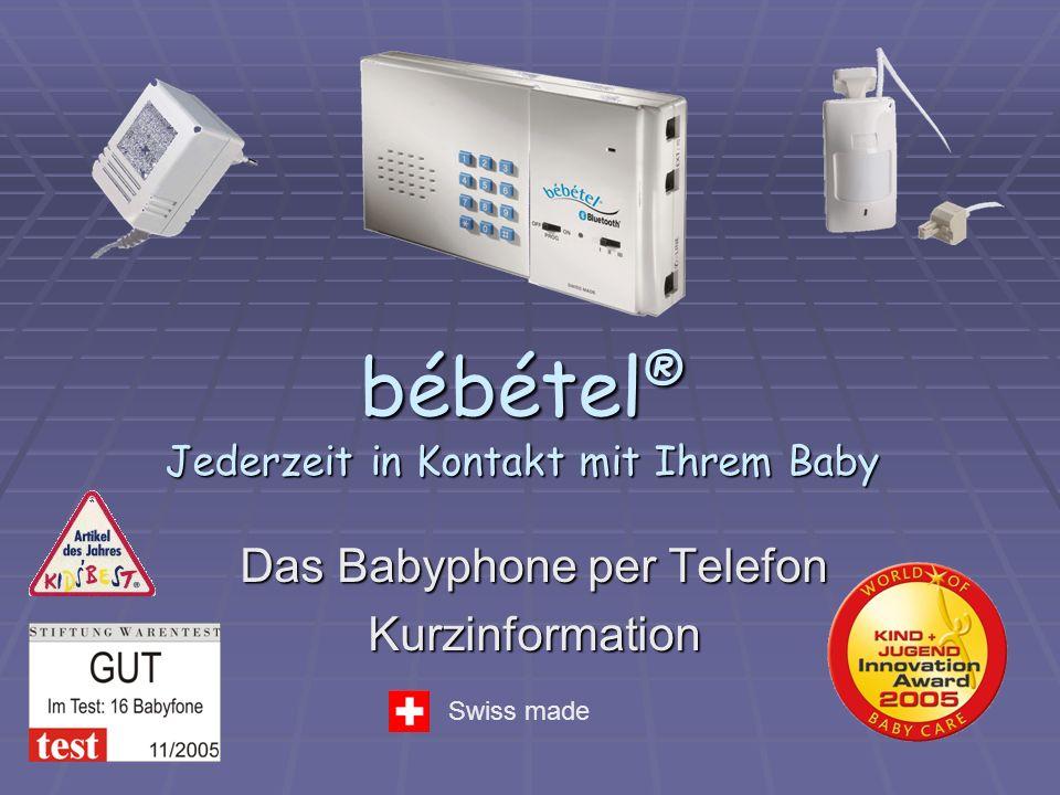 bébétel® Jederzeit in Kontakt mit Ihrem Baby