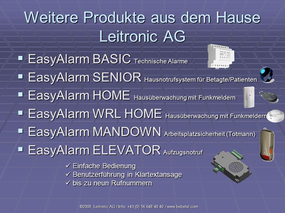 Weitere Produkte aus dem Hause Leitronic AG