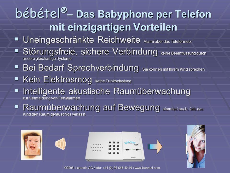 bébétel®– Das Babyphone per Telefon mit einzigartigen Vorteilen