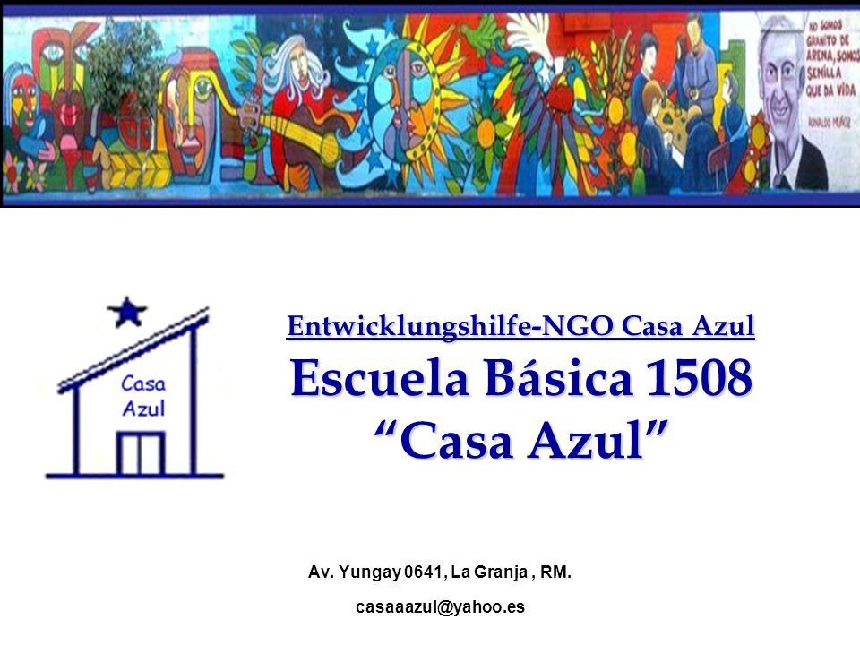 Entwicklungshilfe-NGO Casa Azul Escuela Básica 1508 Casa Azul