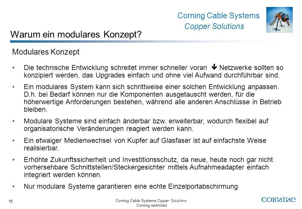 Warum ein modulares Konzept