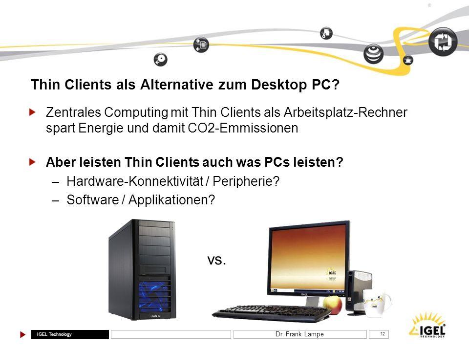 Thin Clients als Alternative zum Desktop PC