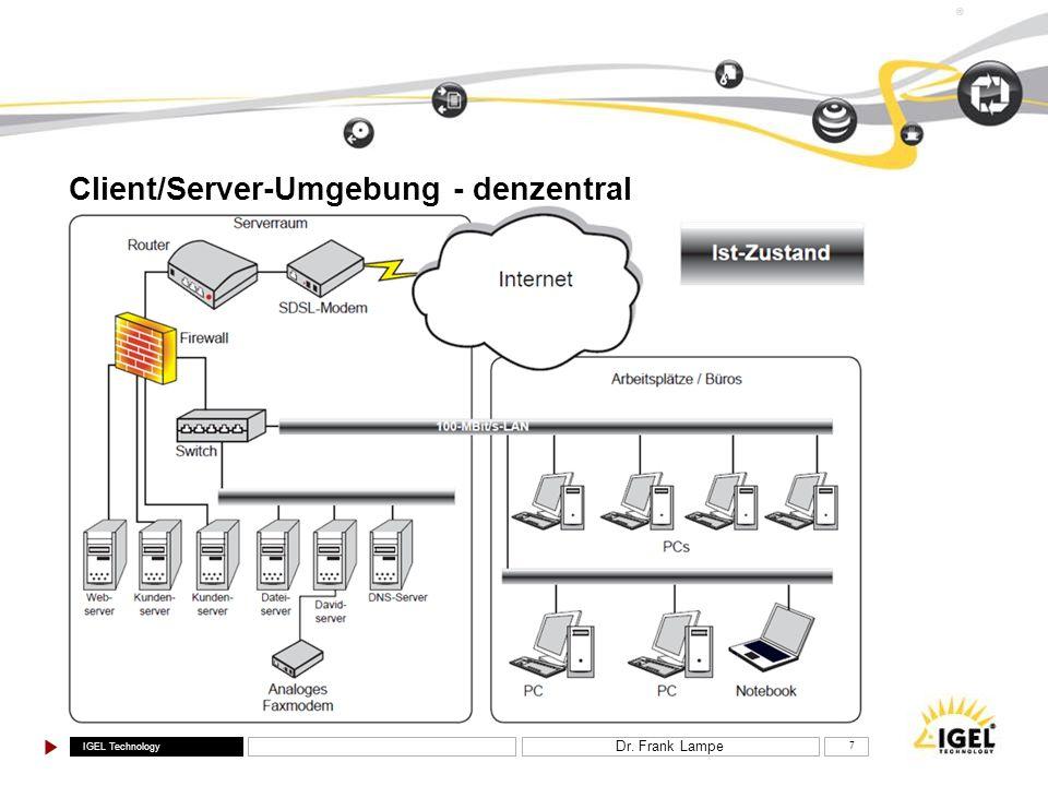 Client/Server-Umgebung - denzentral