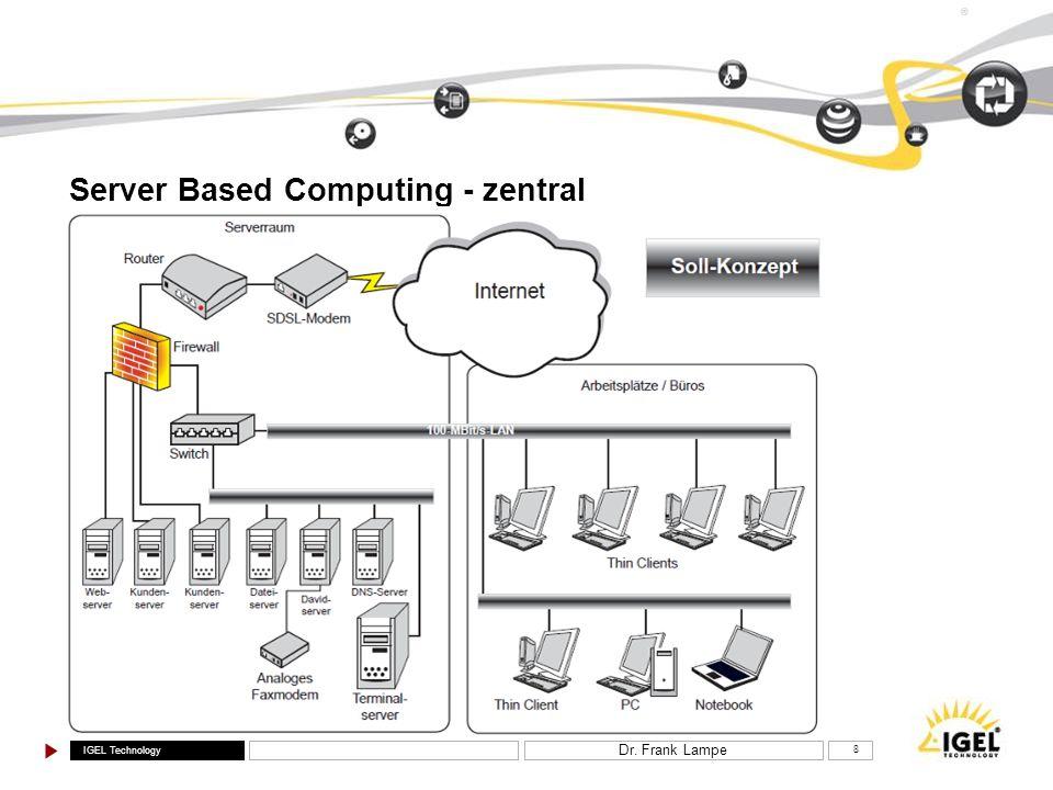 Server Based Computing - zentral