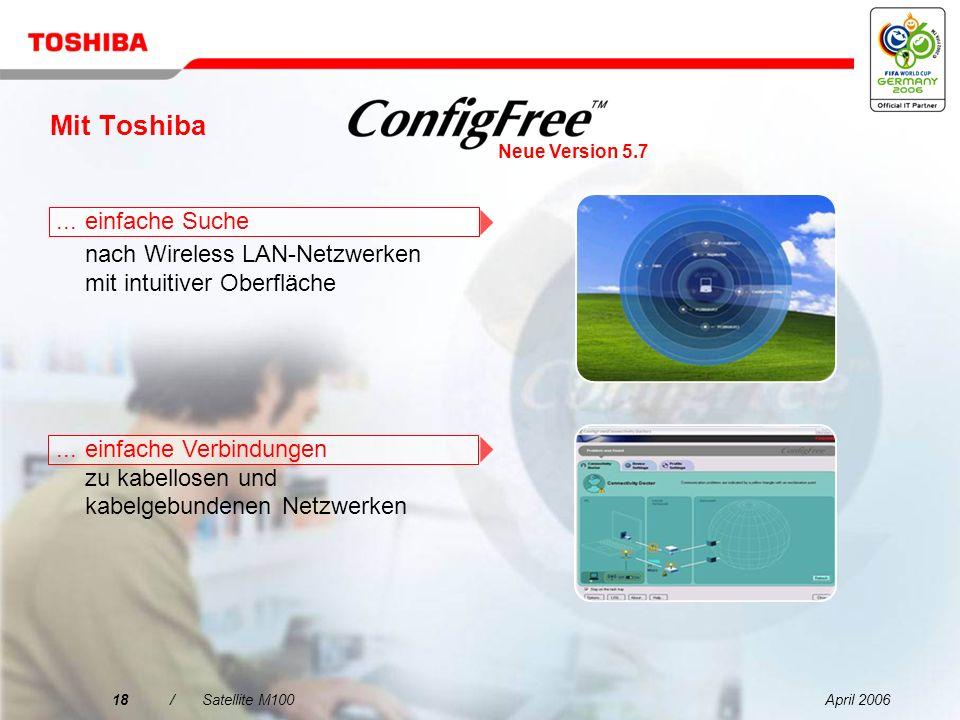 Mit Toshiba ... einfache Suche