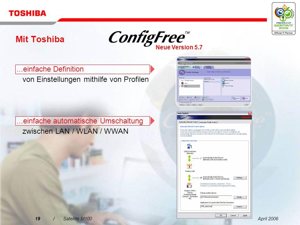 Mit Toshiba ...einfache Definition