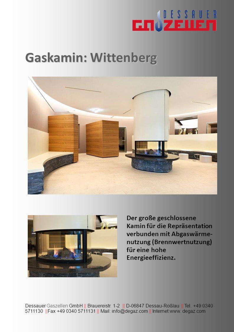 Gaskamin: Wittenberg