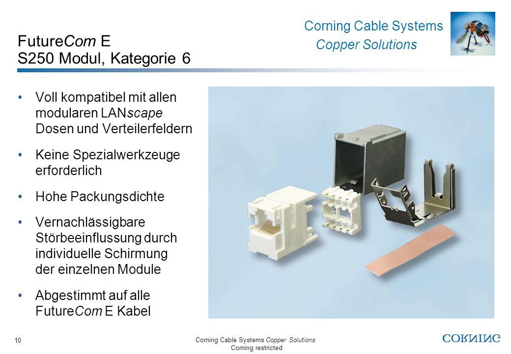 FutureCom E S250 Modul, Kategorie 6