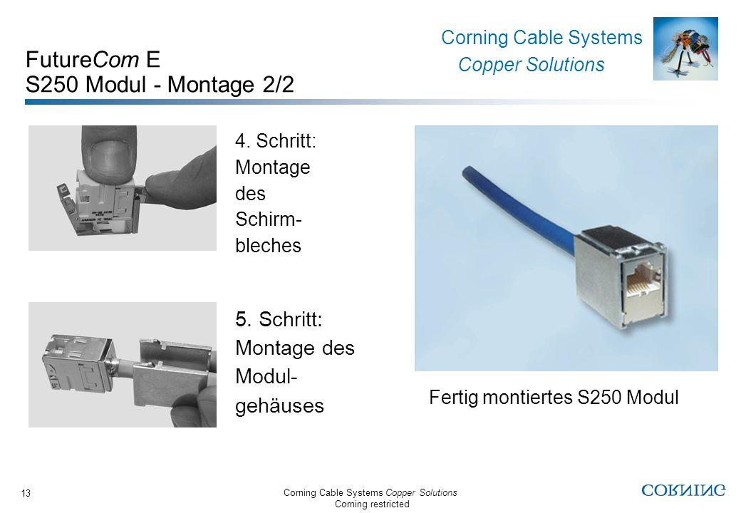 FutureCom E S250 Modul - Montage 2/2