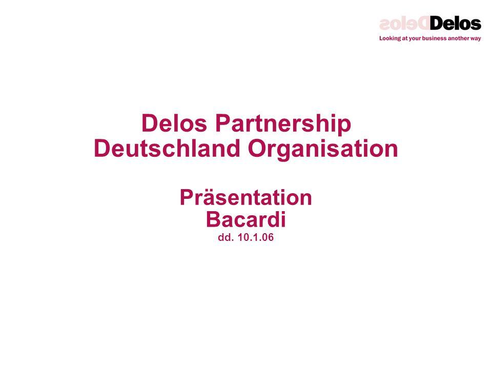 Delos Partnership Deutschland Organisation Präsentation Bacardi dd. 10