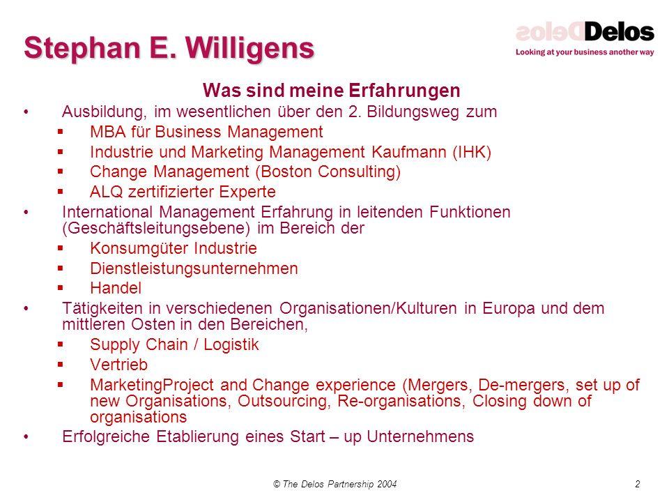 Stephan E. Willigens Was sind meine Erfahrungen