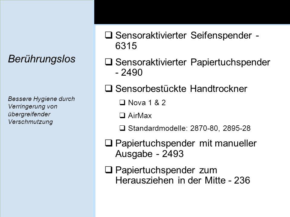 Sensoraktivierter Seifenspender - 6315