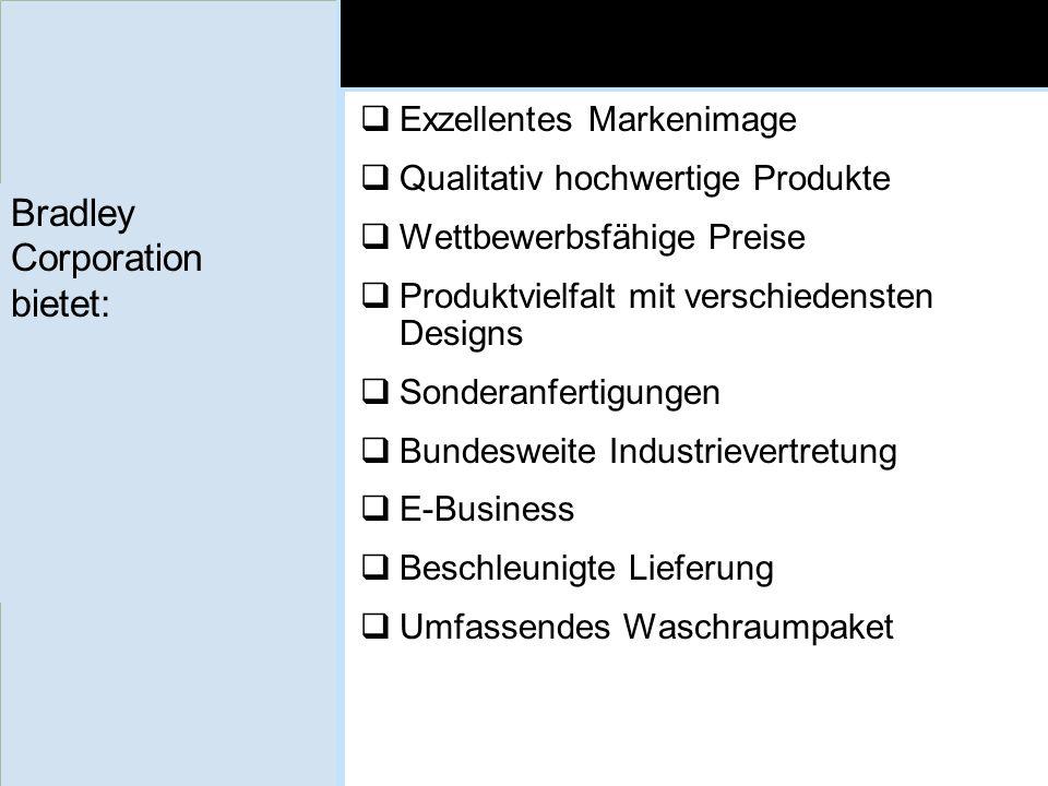 Bradley Corporation bietet: