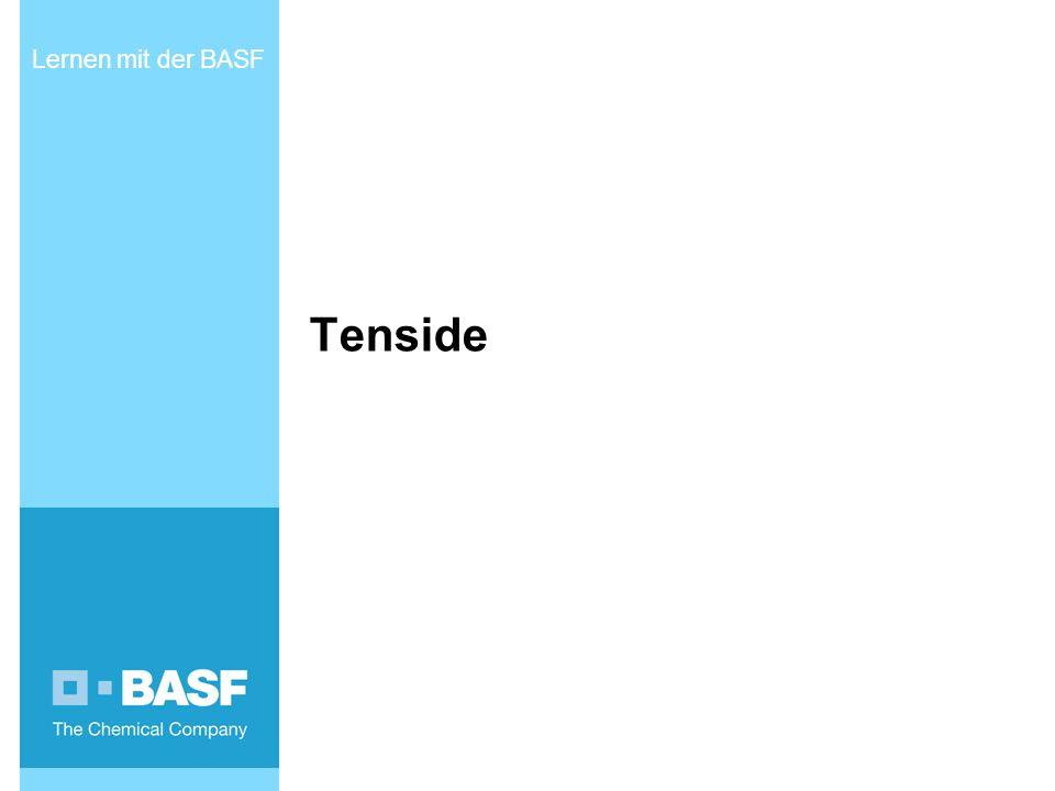 Lernen mit der BASF Tenside INTERN - Ausdrucksstark präsentieren