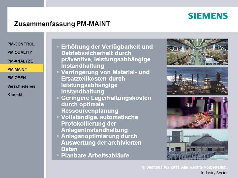 Zusammenfassung PM-MAINT