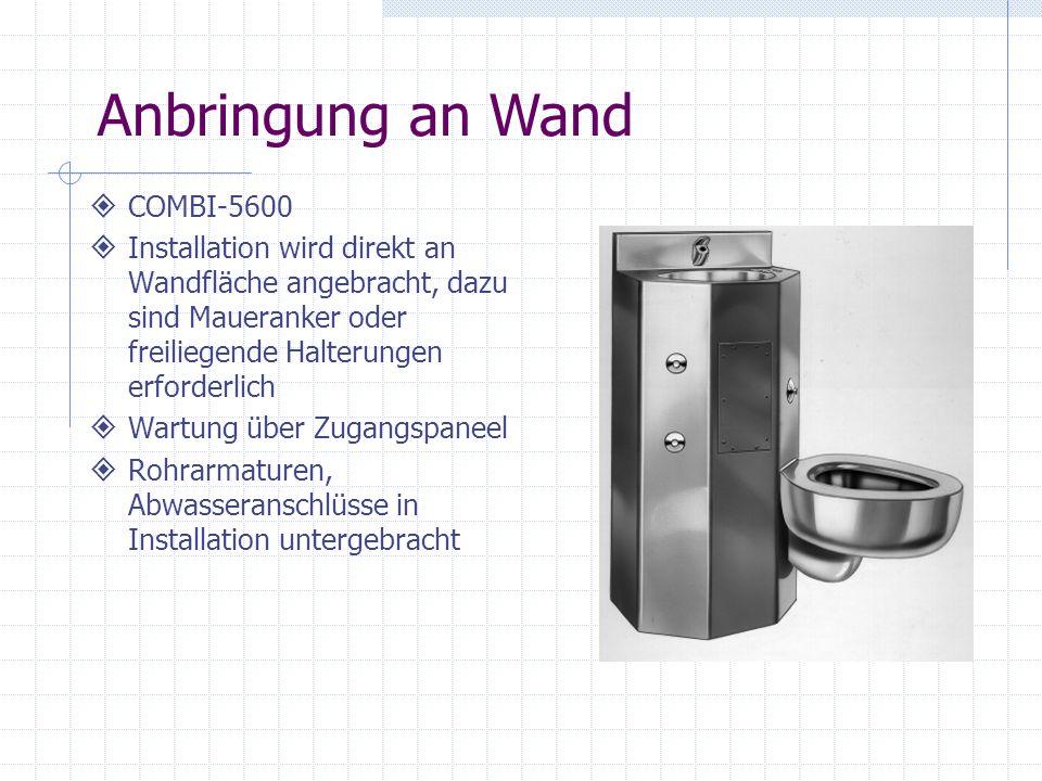 Anbringung an Wand COMBI-5600