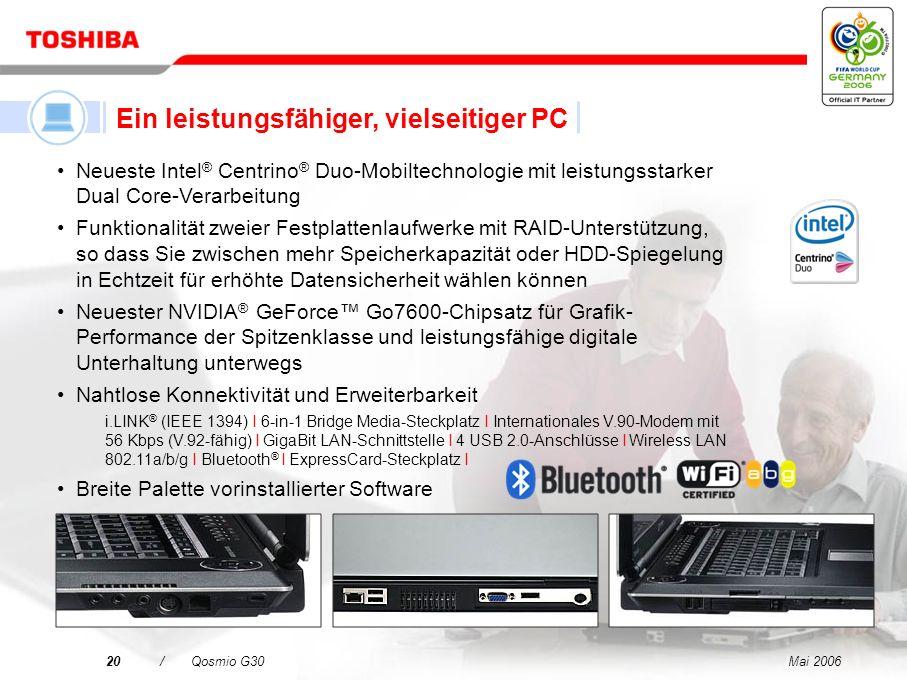 Ein leistungsfähiger, vielseitiger PC