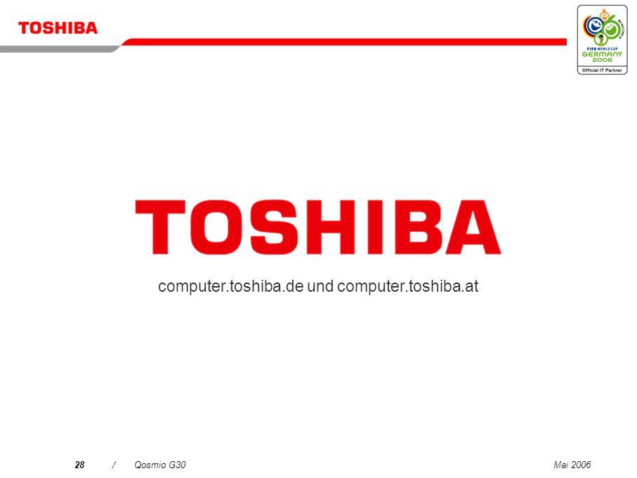 computer.toshiba.de und computer.toshiba.at