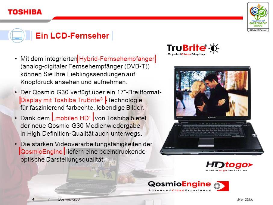 Ein LCD-Fernseher