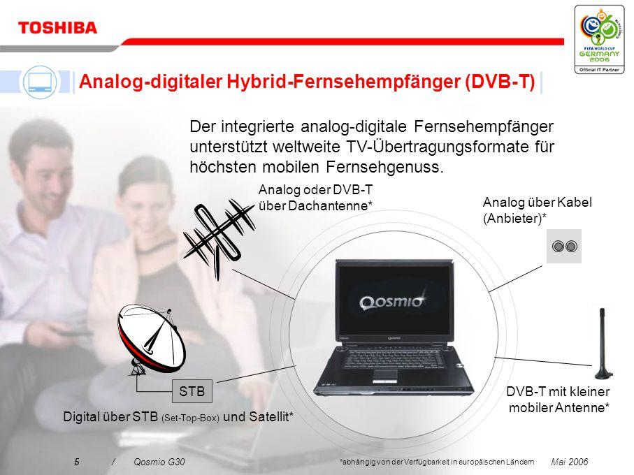 Analog-digitaler Hybrid-Fernsehempfänger (DVB-T)