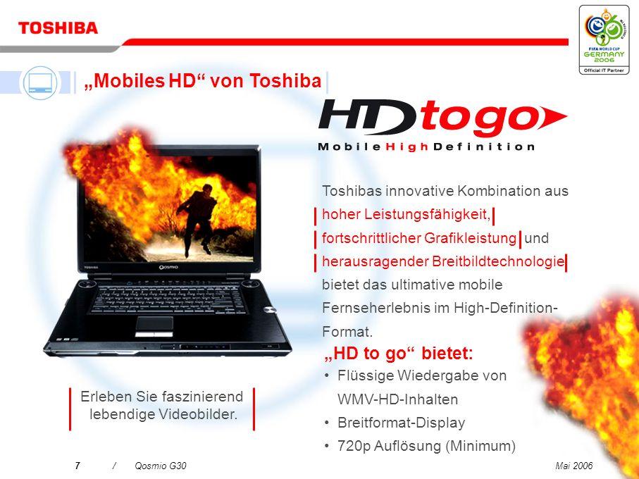 """Mobiles HD von Toshiba"
