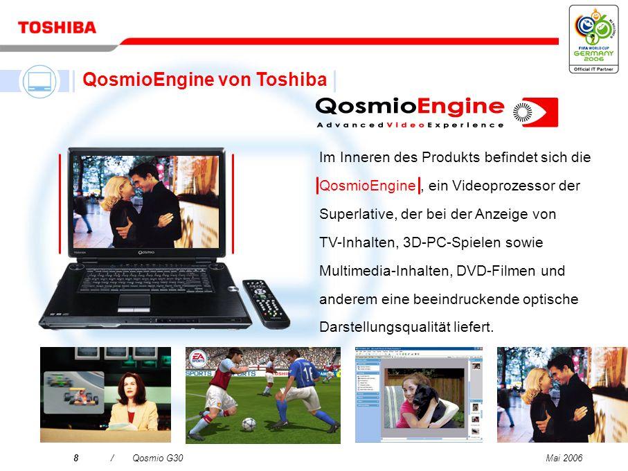 QosmioEngine von Toshiba