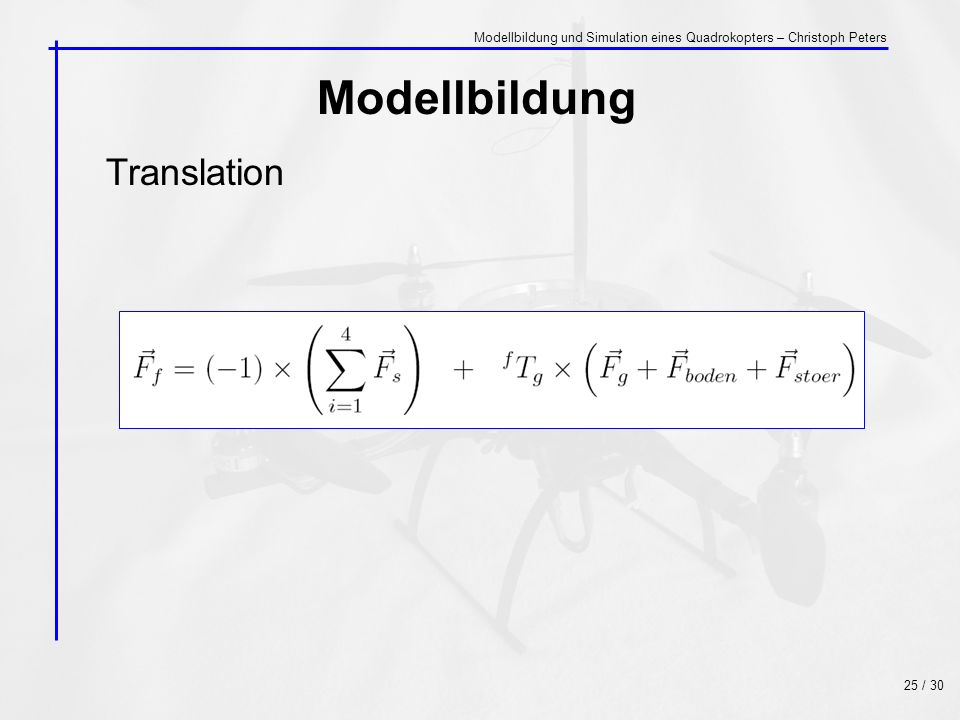 Modellbildung Translation
