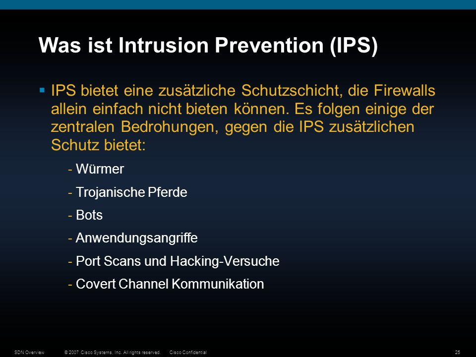 Was ist Intrusion Prevention (IPS)