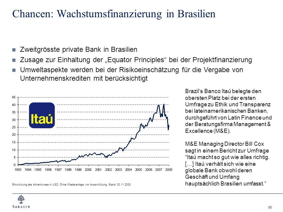 Chancen: Wachstumsfinanzierung in Brasilien