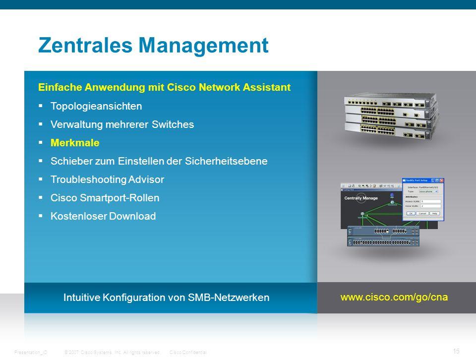 Intuitive Konfiguration von SMB-Netzwerken