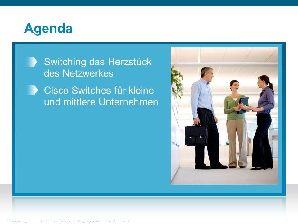 Agenda Switching das Herzstück des Netzwerkes