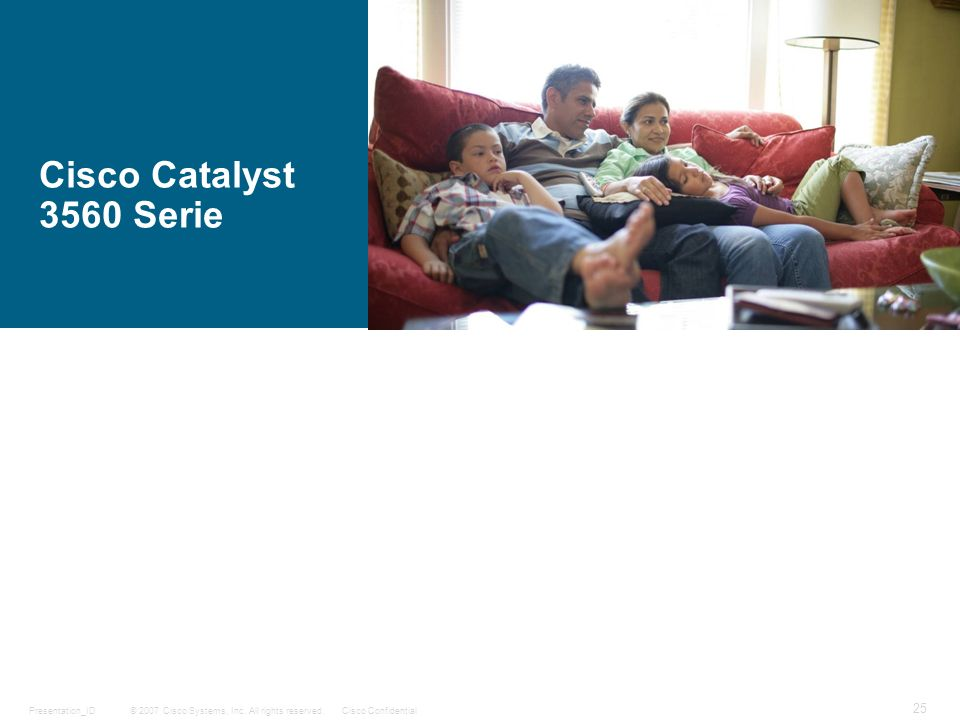 Cisco Catalyst 3560 Serie