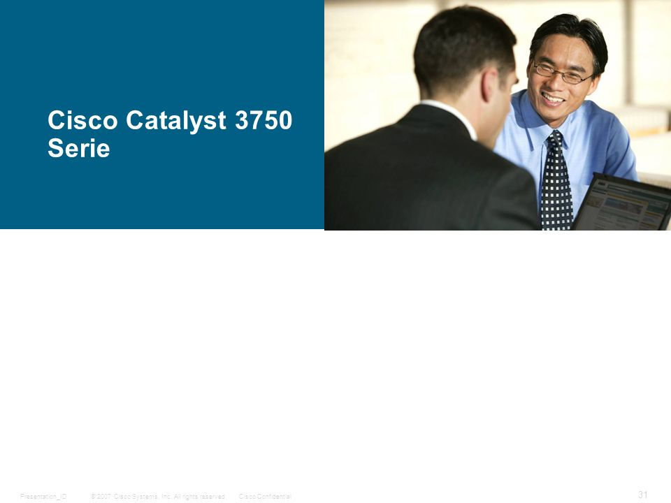 Cisco Catalyst 3750 Serie
