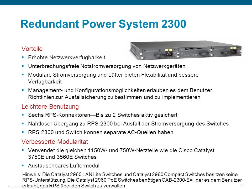 Redundant Power System 2300